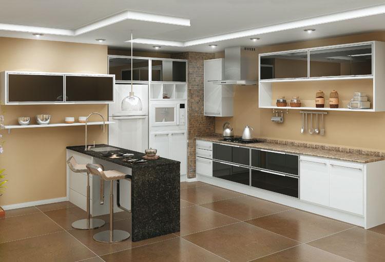 Ver Fotos De Armário De Cozinha : Modecral m?vel decoradora do crato cozinhas contempor?neas